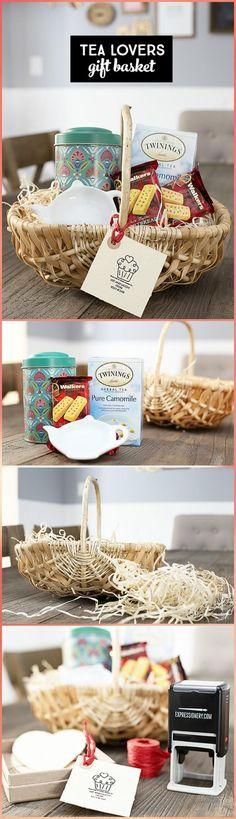 easy tea lovers gift basket