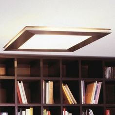 VIBIA Sandwich Ceiling Light | 2Modern Furniture & Lighting $1210.00  19.75 by 3.25 polished stainless