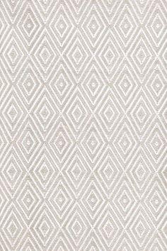 Dash and Albert Diamond Platinum/White Indoor/Outdoor