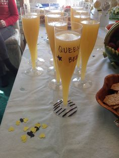 Mimosas Bee theme baby shower