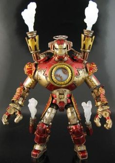 Steampunk Iron Man Custom Action Figure
