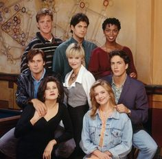 Melrose Place-college girls night. no boys in the apartment!