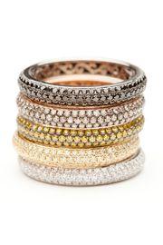 Michael Weggenmann Green Diamond Band Ring by Michael Weggenmann from Amanda Pinson Jewelry