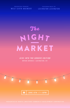 An event to remember starts with an unforgettable flyer. Get inspired by this curated gallery and create your own Event Flyer for free using our templates. This beautiful flyer was designed for the Night Market event. Layout Design, Web Design, Email Design, Flyer Design, Creative Design, Event Poster Design, Moon Design, Poster Designs, Event Design