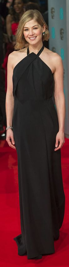 Rosamund Pike in Roland Mouret at the 2015 BAFTAs