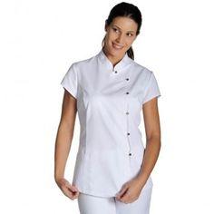 uniformes de enfermeria Spa Uniform, Scrubs Uniform, Scrub Suit Design, White Scrubs, Scrubs Outfit, Medical Uniforms, Hair And Beauty Salon, Uniform Design, Suit Accessories