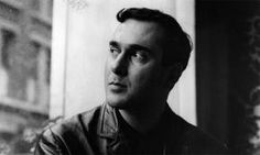 Harold Pinter in his younger days.