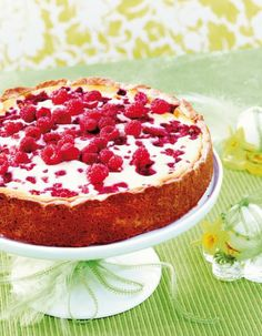 My favorite milkfree cheesecake(rasberry-lemon). Really delicious!