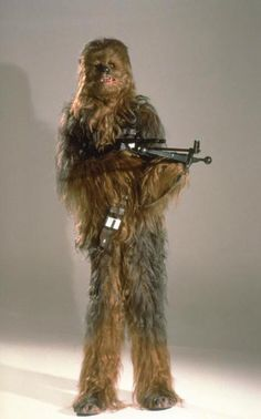 According to Ben Burtt, the sounds Chewbacca makes have been made from a compilation of large mammals, mostly bears (he said one particular zoo-kept Grizzly Bear was an invaluable source of Chewbacca sounds). Star Wars Episode 4, Episode Iv, Star Wars Room, A New Hope, Chewbacca, Disney Pictures, Clone Wars, Behind The Scenes, Star Wars