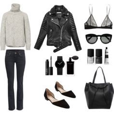 Casual Edgy look