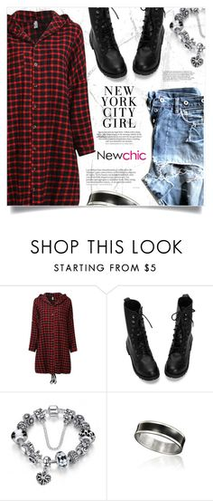 """NewChic"" by jecikilicica ❤ liked on Polyvore featuring chic, New and newchic"