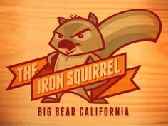 Iron Squirrel T-shirt Design by Kevin Taylor