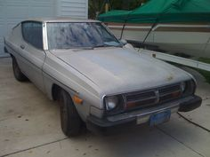 Datsun 200SX - My first car looked almost like this one but had more colors of primer and spray paint.