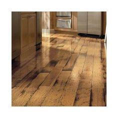 "Bruce Flooring American Originals 5"" Engineered Hickory Hardwood Flooring in Antique Natural"