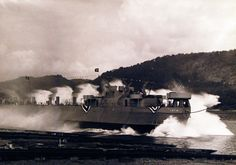 80-G-207975: Launching of LST 48 at the Dravo Corporation, Neville Island, Pittsburgh, Pennsylvania. Launching. U.S. Navy photograph, now in the collections of the National Archives.