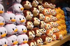 Tsum tsums! (Disney Store, Tokyu Hands, Japan)