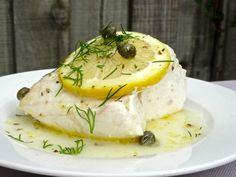 Lemon and Caper Sous Vide Cod