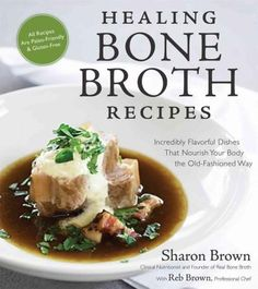 Healing Bone Broth Recipes teaches readers how to incorporate bone broth into their diets with 100 family-friendly and delicious Paleo and gluten-free recipes. With new research boasting the nutrient-