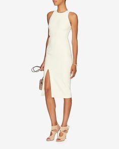 Elizabeth and James Giulia Cut Out Slit Dress   Shop IntermixOnline.com