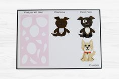 The adorable Tiny Tubs by Tattered Lace For more information visit www.tatteredlace.co.uk Dog Charities, Card Sketches, Charity, Projects To Try, Card Making, Paper Crafts, Tubs, Card Ideas, How To Make