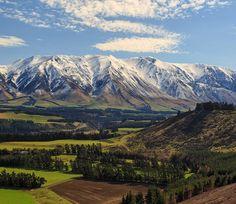 Rakaia Gorge, New Zealand Mount Rainier, New Zealand, Spaces, Mountains, Feelings, Heart, Travel, Instagram, Viajes