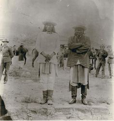 Geronimo ... at his surrender ... 1886