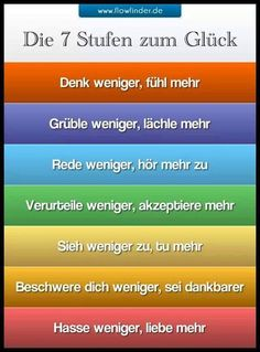 Massage Tips And Tricks For Novices And Pros 7 Stufen zum Glück (Fitness Motivation Deutsch) More from my site How to Start Exercising (again) When You Don't Want to MY FREEBIE The Words, Affirmations, Photo Print, Easy Meditation, Massage Tips, Happy Pictures, Organic Gardening Tips, Biologique, Better Life