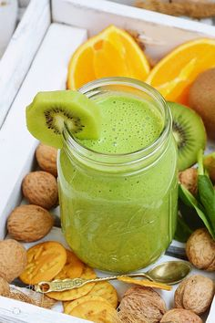 Easy Healthy Smoothie Recipes, Easy Smoothies, Smoothie Drinks, Weight Loss Smoothies, Fruit Recipes, Cooking Recipes, Juice Ad, Milkshakes, Food To Make