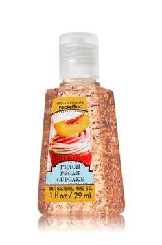 Peach Pecan Cupcake PocketBac Sanitizing Hand Gel - Anti-Bacterial - Bath & Body Works