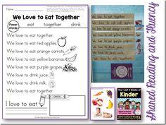 shared reading & fluency