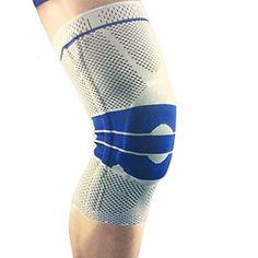 9446935125 New Knee Compression Sleeve Knee Brace with Side Stabilizers & Patella Gel  Pads for Knee Support