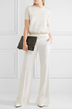 Jil Sander | Sequin-embellished wool sweater | NET-A-PORTER.COM