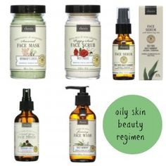Oily Skin Routine with #EcoFriendly #Skincare Products From Thesis