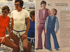These photos of men's fashions from that decade leave us drowning in astounding musta. Seventies Fashion, 70s Fashion, Fashion Boots, Vintage Fashion, Fashion Outfits, Fashion Trends, Cheap Fashion, Fasion, Vintage Outfits