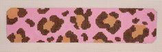 Pink/Brown Leopard Cuff