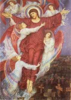 The Red Cross - Evelyn De Morgan, 1916