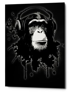 58bafe976df Monkey Business Gicele Canvas Wall Art Monkey Illustration