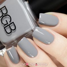 Swatch of RGB Steel Nail Polish (Core Collection)