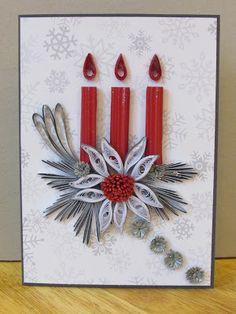 Kręciołki Weronki: Kartka świąteczna 22