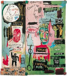 Basquiat - In Italian 2                                                                                                                                                                                 Plus