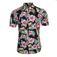 Herren Urlaub Strand Hawaii Blattaufdruck-Hemd (XL, rot) ... https://www.amazon.de/dp/B01FABX7KS/ref=cm_sw_r_pi_dp_x_0XU8xbDRV7KY8
