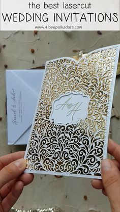 New Wedding Card Design Vintage Invitation Ideas Ideas Laser Cut Wedding Invitations, Wedding Invitation Cards, Party Invitations, Laser Cut Invitation, Wedding Invitation Design Ideas, Invitation Ideas, Cricut Wedding Invitations, Beautiful Wedding Invitations, Wedding Programs