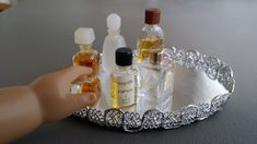 American Girl Doll Crafts and Fun!: Spice it Up/Quick and Easy Craft: Make a Doll Vanity Tray