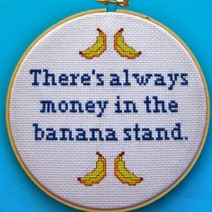 Etsy Home Decor Finds - Funny Cross Stitch Patterns - Country Living