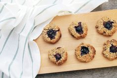 Vegan Blueberry Cookies – A Spoonful of Nature