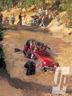 #Jeep - Only a puddle. #Wrangler #OffRoad #Challenges #Adventure #Fun