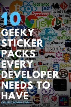 10 Geeky Sticker Packs Any Developer Should Have | Looking for some cool and geeky stickers for your laptop. It seems you can always find a developer wherever there are some stickers in some form as a laptop decal. It's like it's a part of the developer culture. If you want to spice up your coding tools then check out these goofy and silly stickers that you will be sure to love and add to anything you want to decorate. #geekstickers #geekstickerslaptopdecal #nerdstickersgeek Best Animes Ever, Tech Gifts For Men, Coding For Beginners, Cool Tech, Laptop Decal, Tech Gadgets, Tech Accessories, Things To Think About, Spice