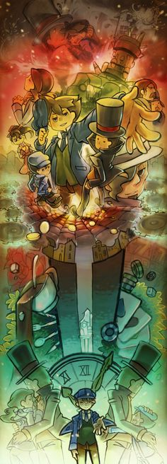 Professor Layton and the unwound future! This is incredible!