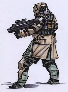 soldier 2 by Makkon on DeviantArt