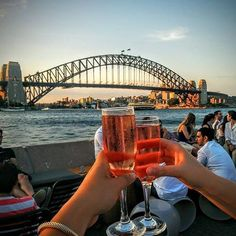 At Opera Bar in Sydney.com, the epic views of the Sydney Harbour Bridge are a good enough reason to raise your glass! There are lots of venues around Sydney for alfresco drinks and dining - after all, enjoying food and wine in the great outdoors is part of the Aussie way of life, from beach barbeques to vineyard picnics, sun-drenched beer gardens
